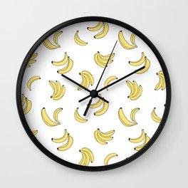 Going Bananas Wall Clock