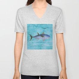 Atlantic Bluefin Tuna Fish - the fisherman's big catch Unisex V-Neck