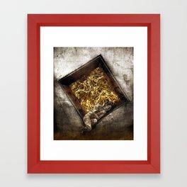 Transmeditate In A Dream Framed Art Print