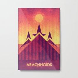 Venus - Arachnoids Metal Print