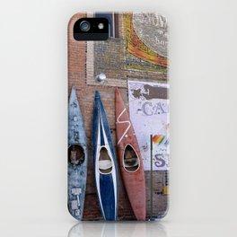 Kayaks in Colorado iPhone Case