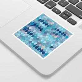 SUMMER MERMAID DARK TEAL Sticker