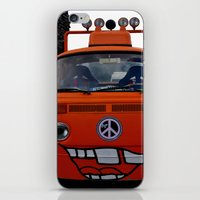 volkswagen iPhone & iPod Skins featuring funny volkswagen by gzm_guvenc