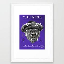 Father Lucas Framed Art Print