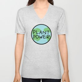 Plant Power Unisex V-Neck