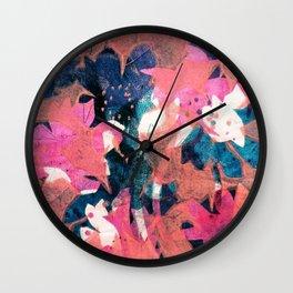 Cotton Candy Garden Wall Clock
