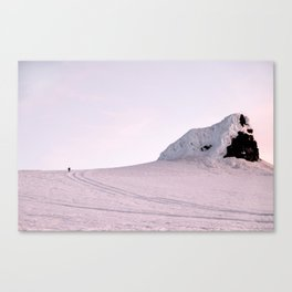 Lone Hiker Canvas Print