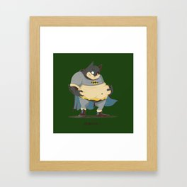 Fatman Framed Art Print