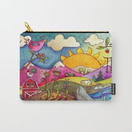 This Land Was Made For You And Me Carry-All Pouch