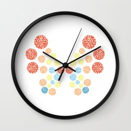 Vivillon Ocean Form Wall Clock