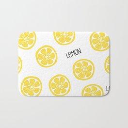 Lemon Bath Mat