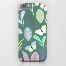Flower and Butterfly III Slim Case iPhone 6s
