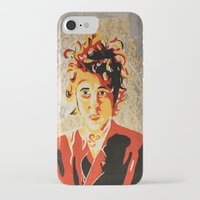 dylan iPhone & iPod Cases featuring Dylan by Ben Brush
