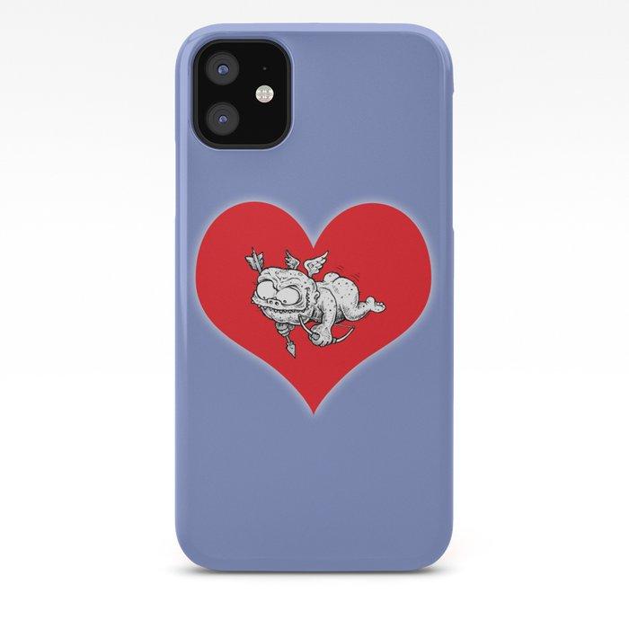 Cupid Valentine Monster Cartoon Cherub Heart Angel Iphone Case By Dave Squid Cohen