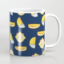 Cachapa, Empanada, Arepa. (Blue) Coffee Mug