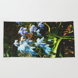 just a lovely flowers Beach Towel