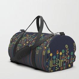 Overgrown flowers Duffle Bag