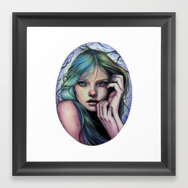 Moonlight Soliloquy Framed Art Print