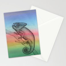 Chameleon (3) Stationery Cards