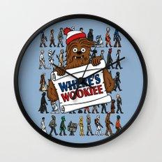 Where's Wookiee Wall Clock