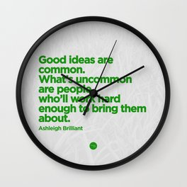 Good Ideas Wall Clock