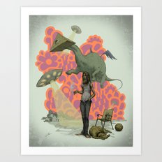 Can I Get a Paradigm Shift Already? Art Print