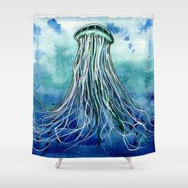 Emperor Jellyfish Shower Curtain