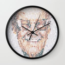 Stan Lee. Wall Clock