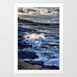 Newton's Rock, Narragansett, RI #24 Art Print