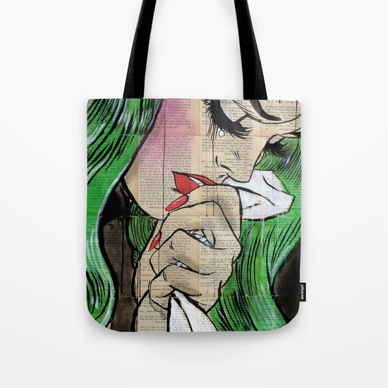 pop cry Tote Bag