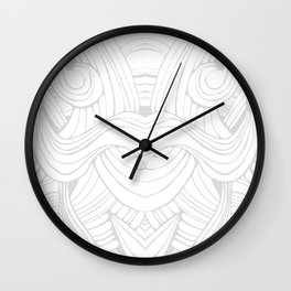 Tribal Latino Wall Clock