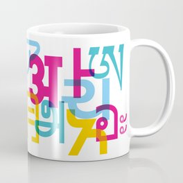 A in Scripts Around the World Coffee Mug