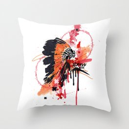 Brave Soul Throw Pillow