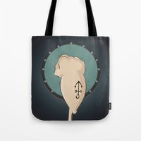 popeye Tote Bags featuring Popeye  Sailor rebelion by Daniac Design