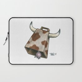 Cow Bell Laptop Sleeve
