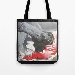 Red Allstars Tote Bag
