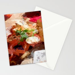 Breakfast for tourists in Groningen - Netherland Stationery Cards