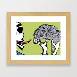 it's good for your soul Framed Art Print