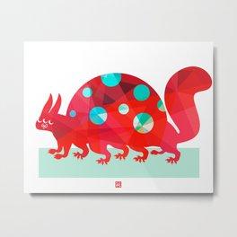 Oddities 2 - Tortoisquirrel Metal Print