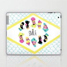 Hipster Smile Laptop & iPad Skin