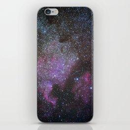 North America Nebula and Pelican Nebula iPhone Skin