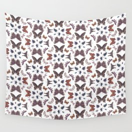 Mosaic of Bugs Wall Tapestry