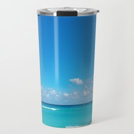 Parasailing in Cancun Travel Mug