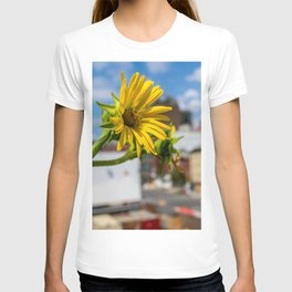 Yellow Flower in NYC T-shirt