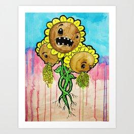 Sick Weeds Art Print