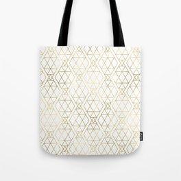 Modern Art Deco Geometric 1 Tote Bag