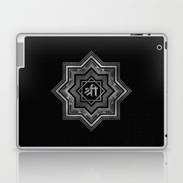 Silver Star of Lakshmi - Ashthalakshmi  and Sri Laptop & iPad Skin