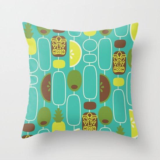 Tiki Weekend Throw Pillow