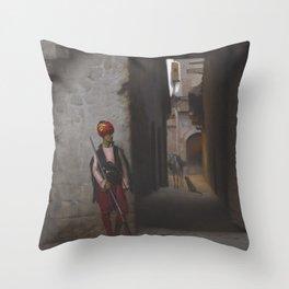 Jean-Leon Gerôme - The Guard Throw Pillow