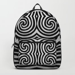 Cronky Acid Black and White Backpack